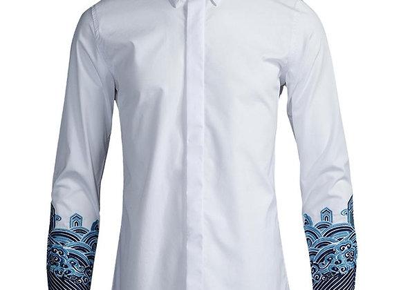 Wet/Dry Clean-Shirt Men