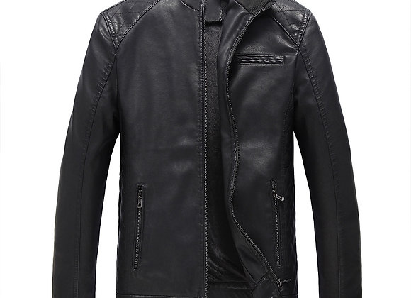 Wet/Dry Clean-Leather Coat