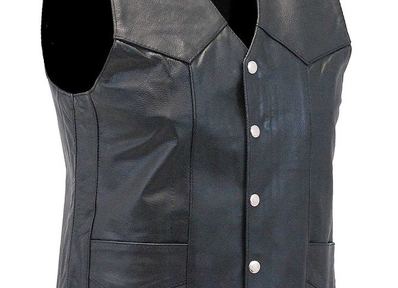 Wet/Dry Clean-Leather Vest
