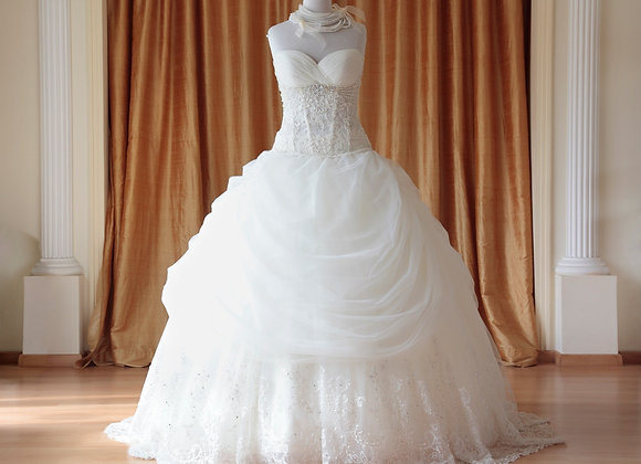 Wet/Dry Clean-Wedding Gown Lady