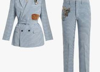 Wet/Dry Clean-Pant Suit Lady