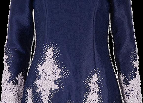 Wet/Dry Clean-Baju Kurung Full Sequin Lady