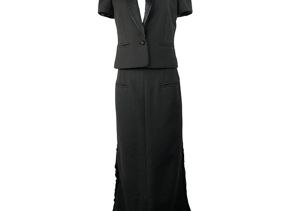 Press-Maxi Skirt Suit Lady