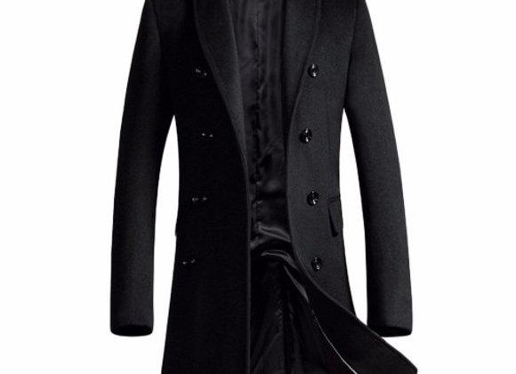 Wet/Dry Clean-Overcoat Men