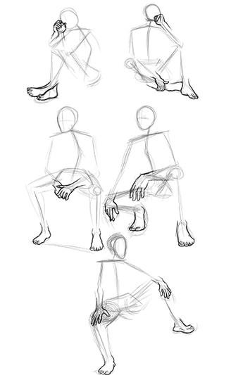 Hand and Feet Gestrues