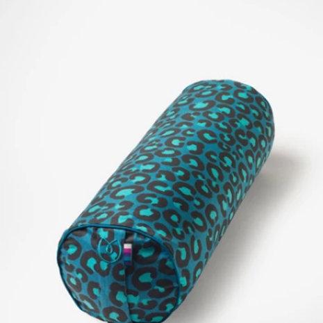 Leopard Print Buckwheat Bolster
