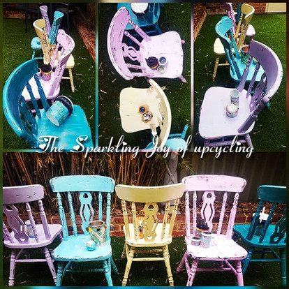 """The Sparkling Joy of upcycling """"Color is"""