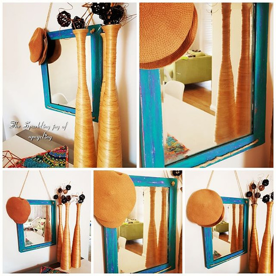 """The Sparkling joy of upcycling """"Life is"""