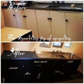 The Sparkling joy of upcycling  Kitchen