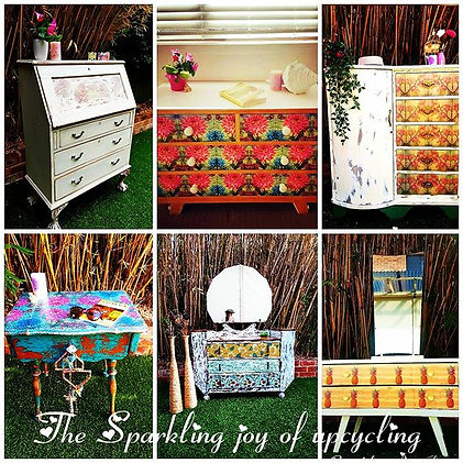 "The Sparkling joy of upcycling ""Let the"