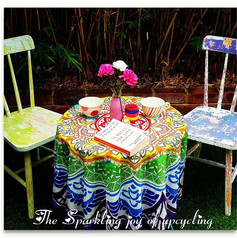 """The Sparkling joy of upcycling """"Home is"""
