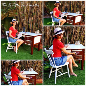 """The Sparkling joy of upcycling """"It is al"""