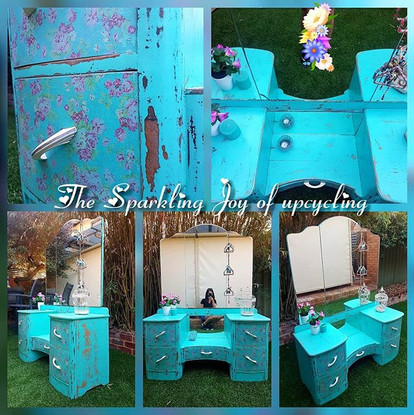 The Sparkling Joy of upcycling  Color...