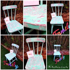 """The Sparkling joy of upcycling """"Bloom wh"""
