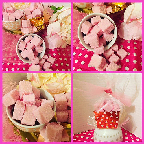 Pink Sugar Cube Scrubs