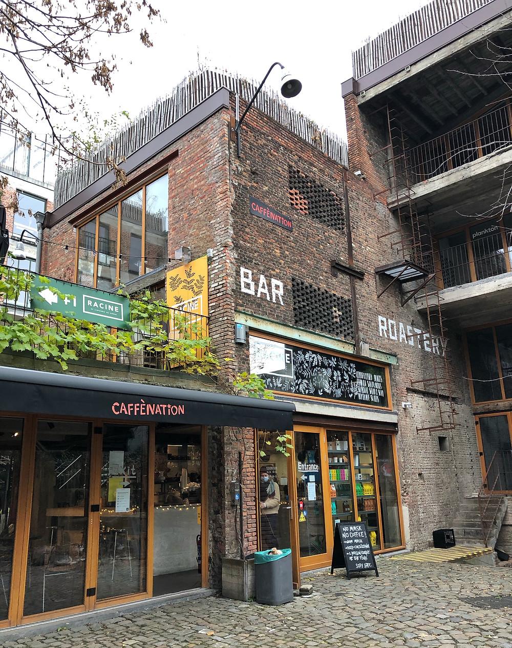 Caffènation PAKT Antwerp