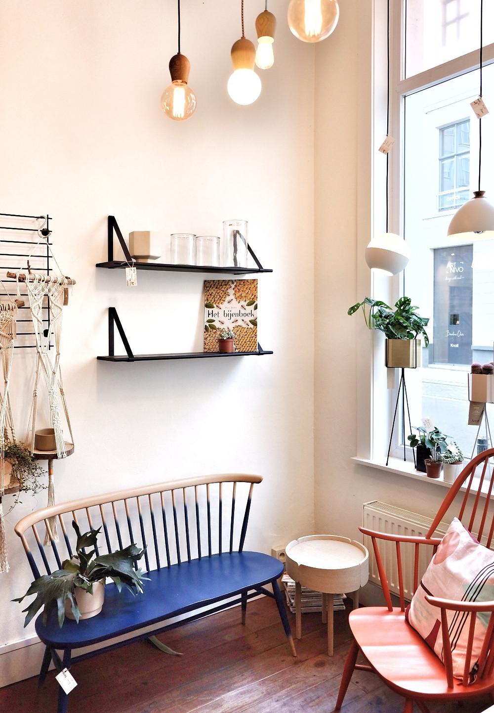 Huiszwaluw interior shop in Ghent