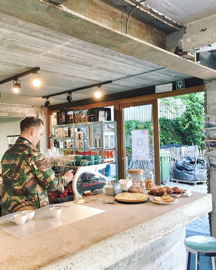 Caffènation at PAKT Antwerp