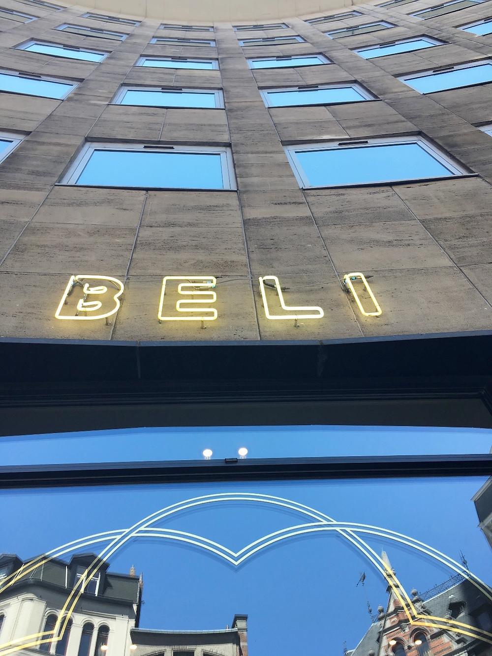Restaurant Beli in Brussels
