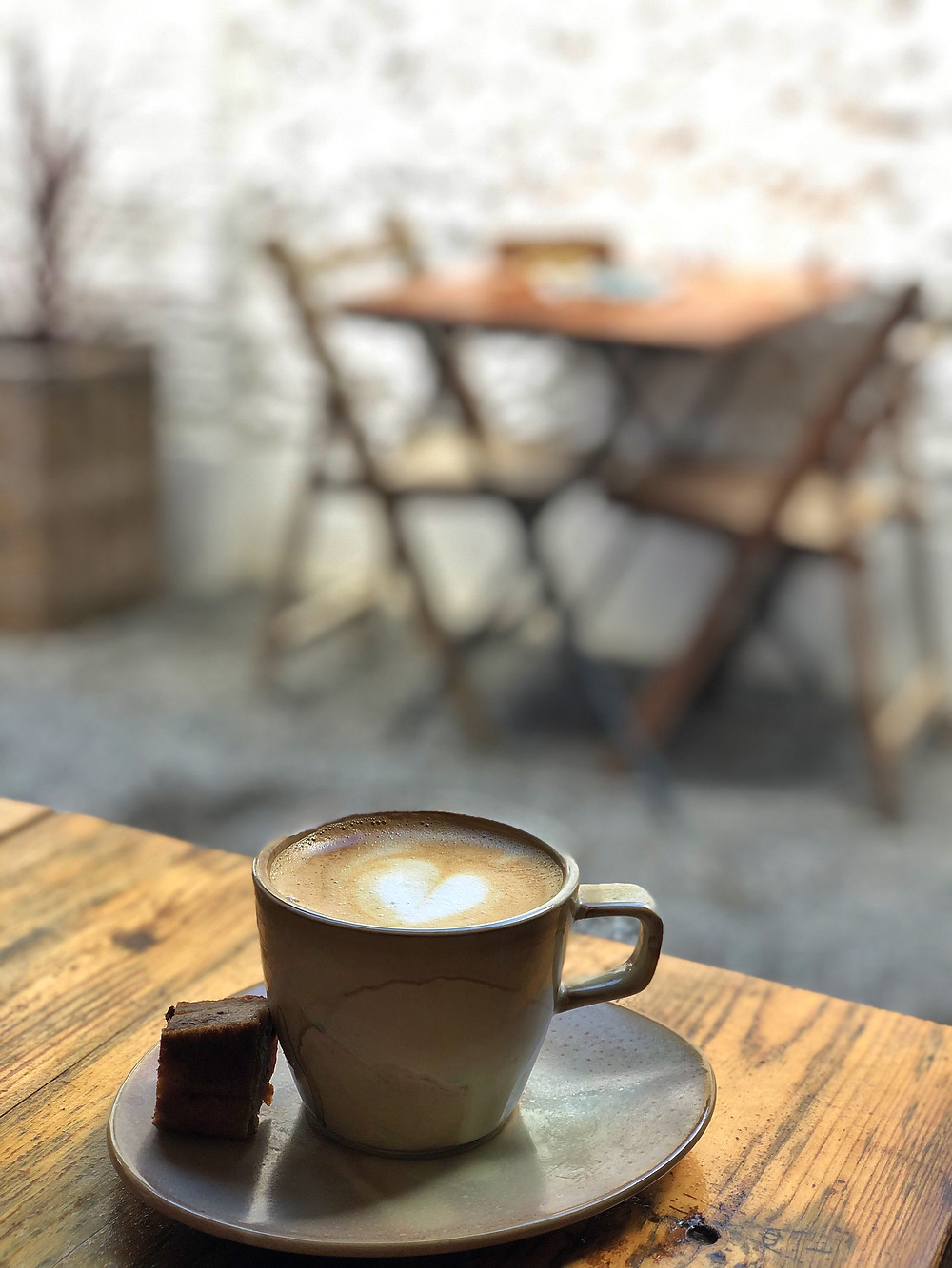 Coffee at Cabane Lier