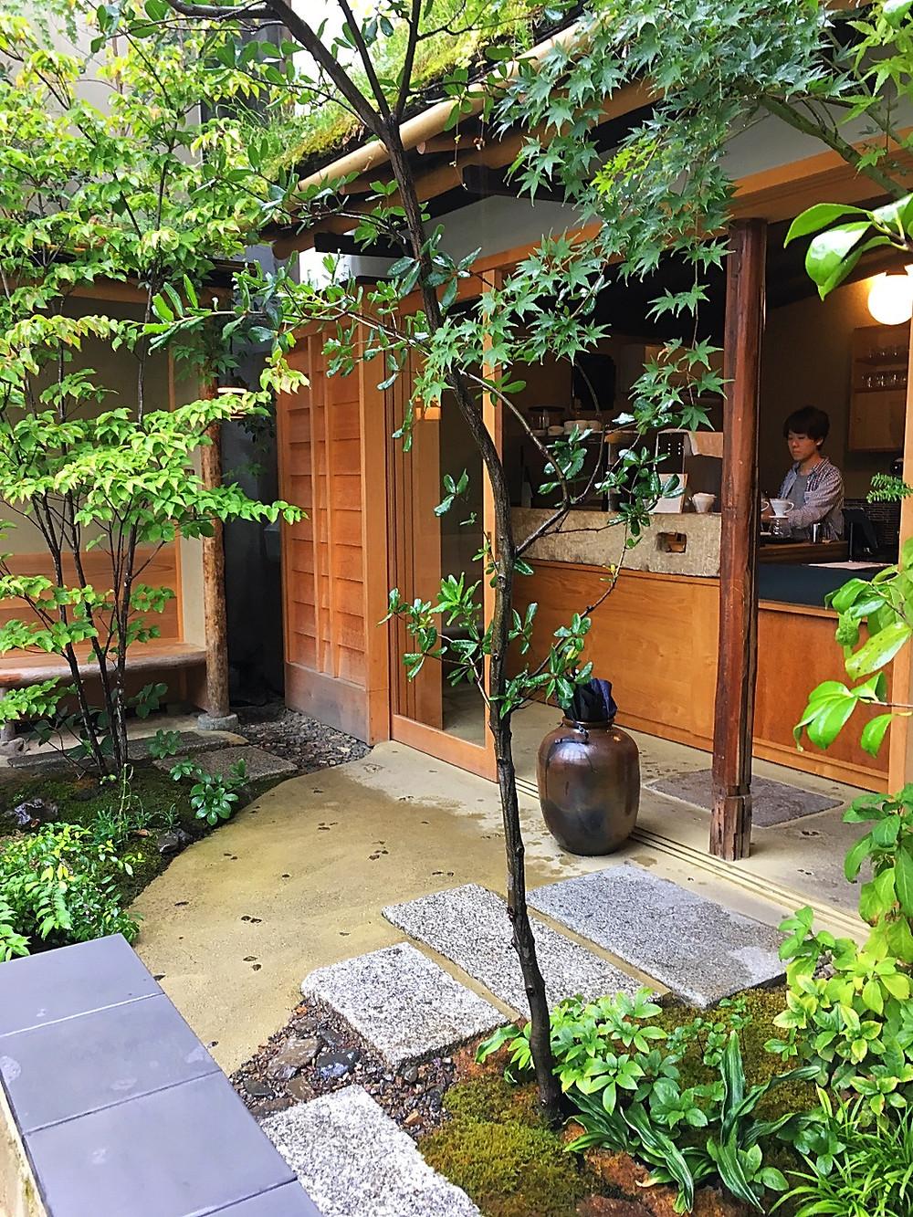 Weekenders Coffee in Kyoto Japan