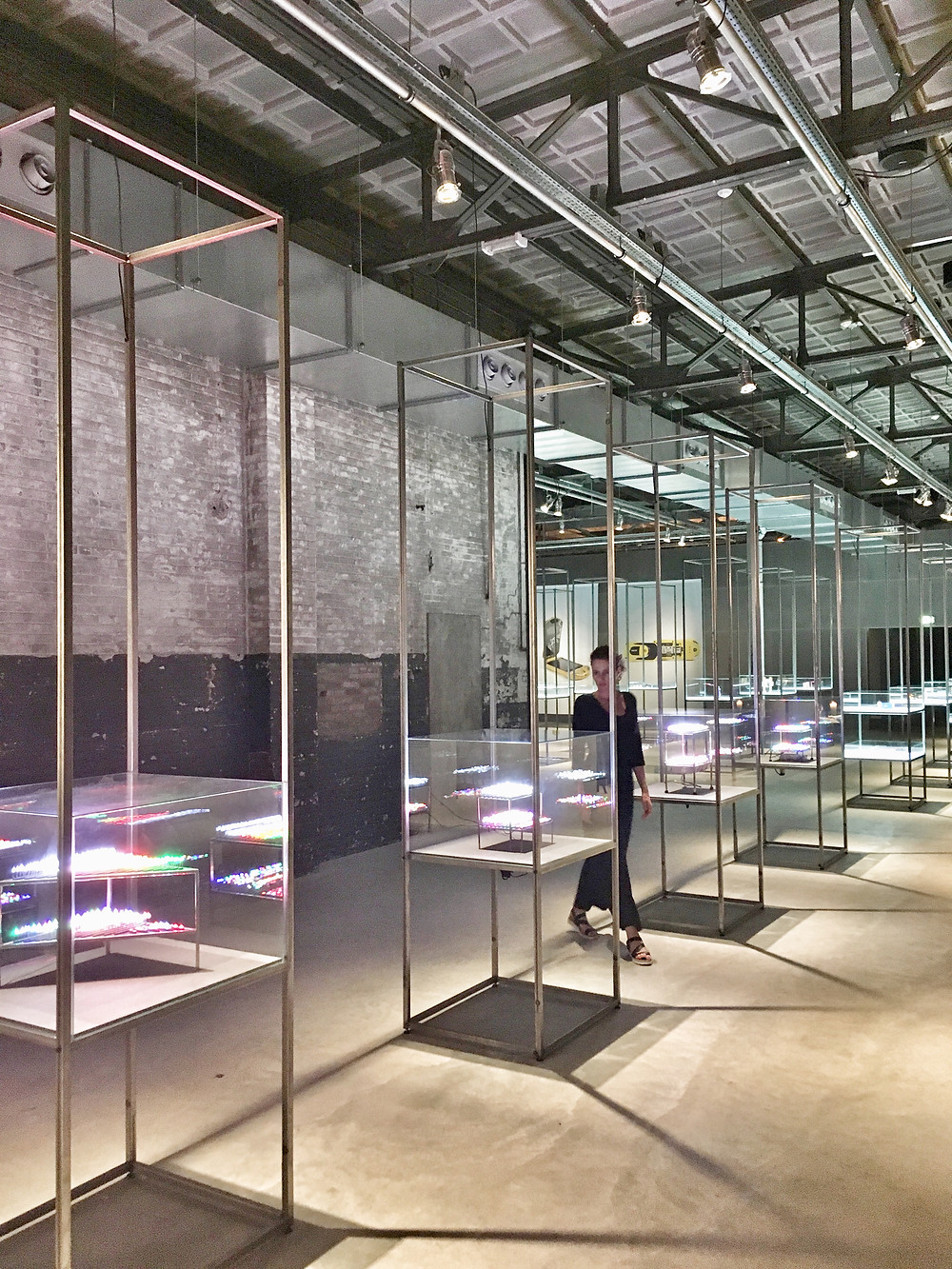 Exhibition 'Born at Night' at Kazerne in Eindhoven