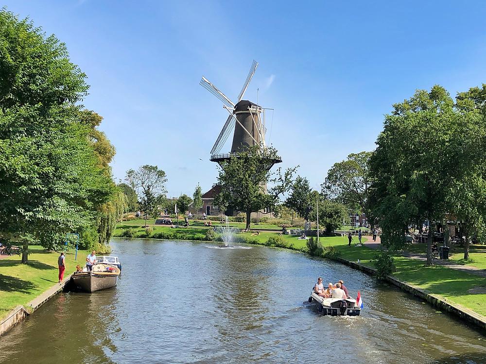 Windmill De Valk in Leiden