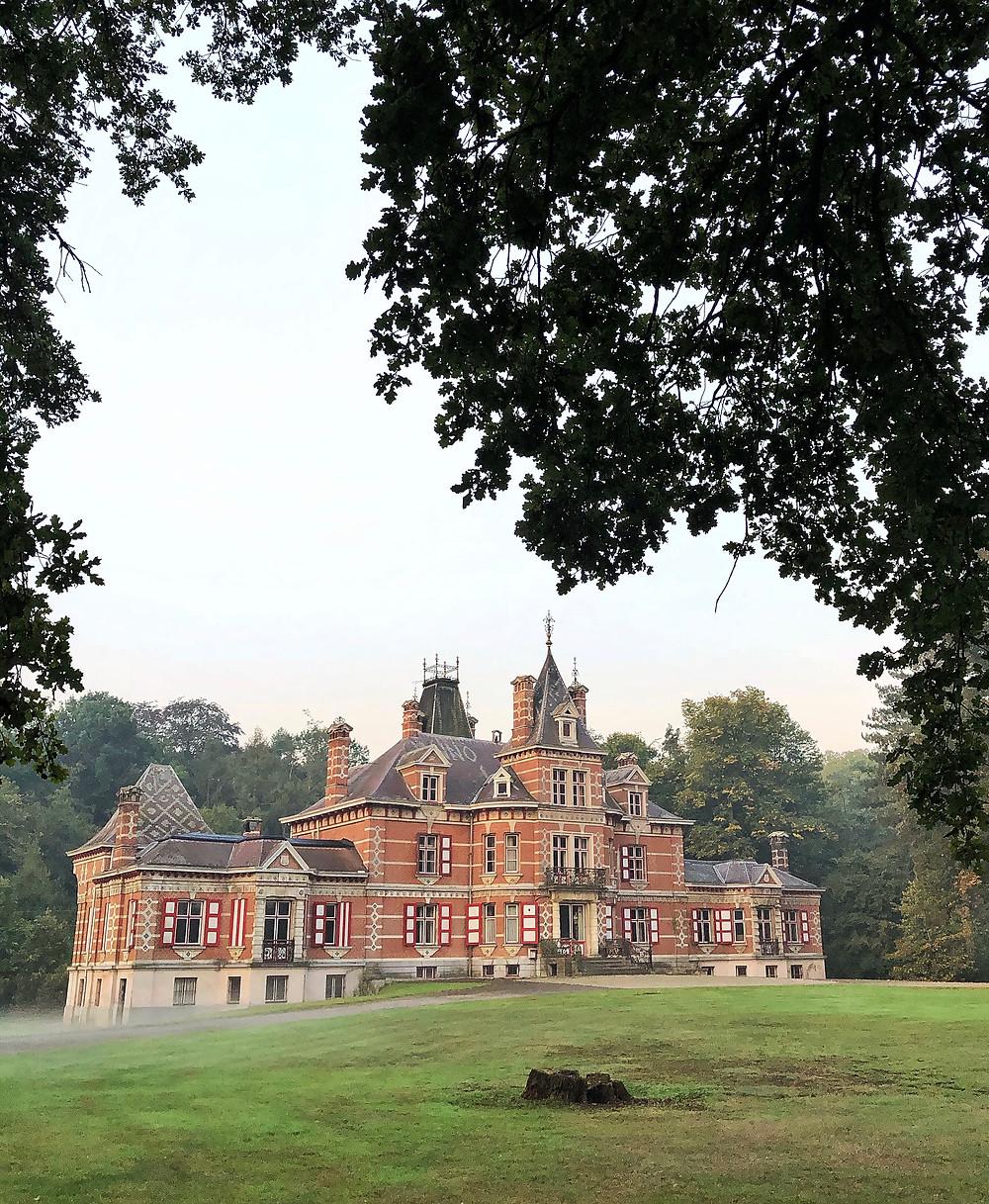 Castle at Hof ter Laken Belgium