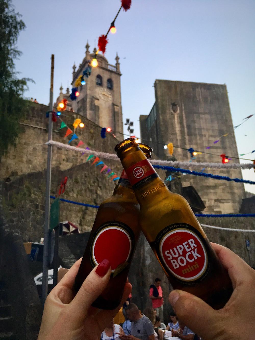 Super Bock at Festa São João in Porto