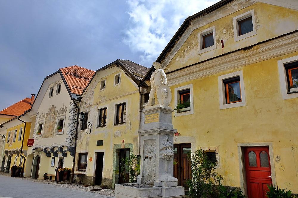 Linhart Square, Radovljica, Slovenia