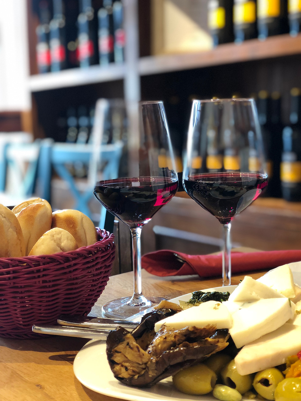 Food at Restaurant Pasta e Vino Salzburg