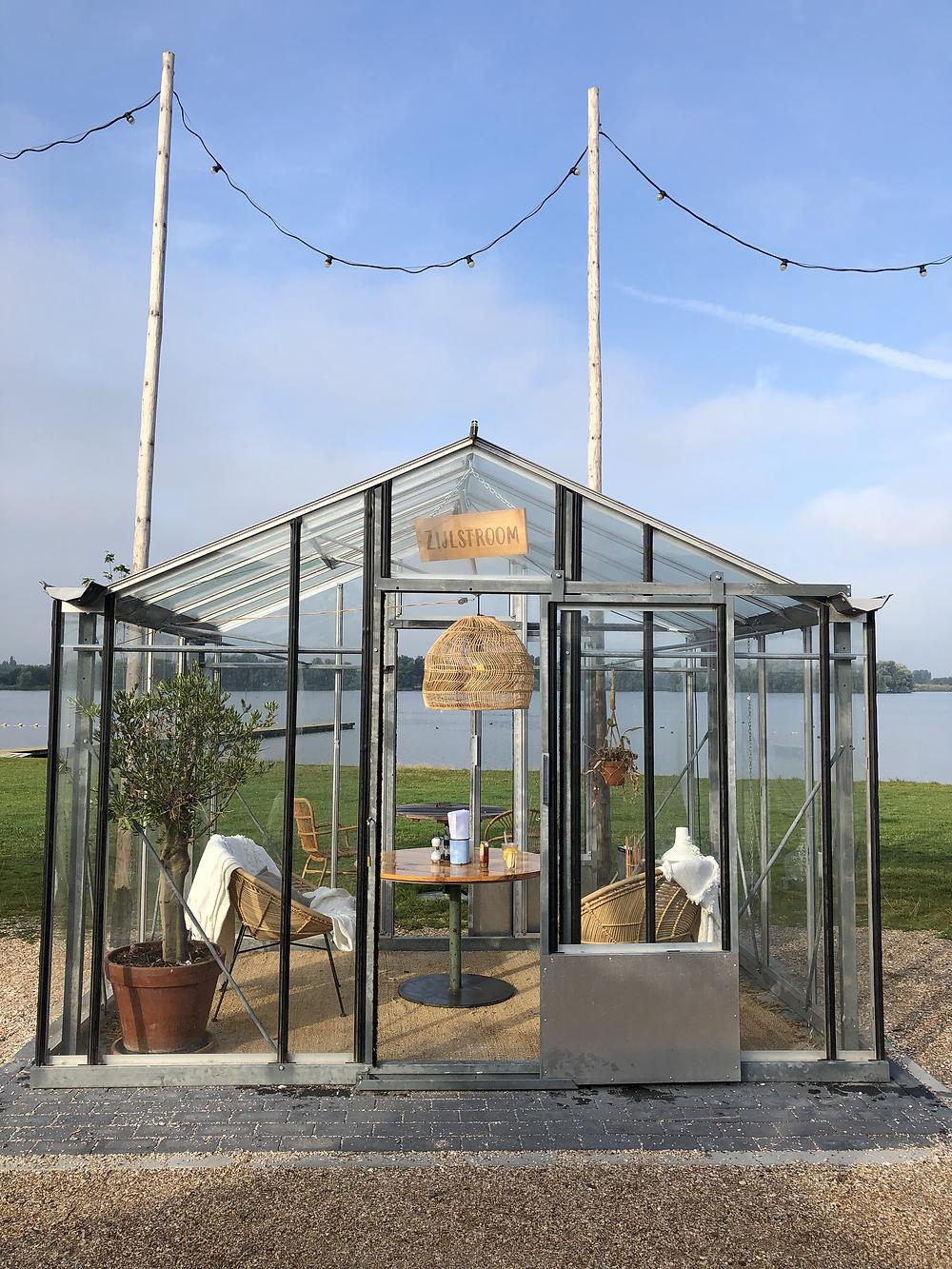 Greenhouse at Brasserie Buitenhuis Leiden