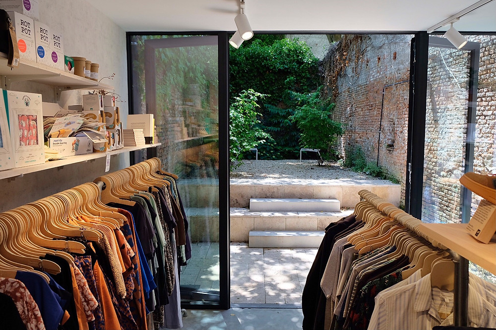 Supergoods Store with eco and fair fashion in Mechelen