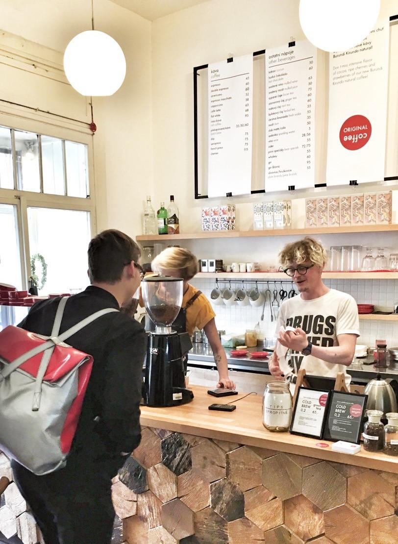 Original Coffee in Prague