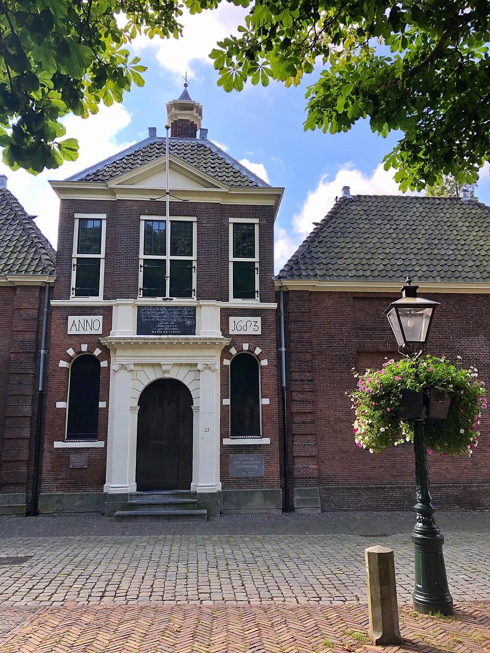 Jean Pesijnhofje in Leiden