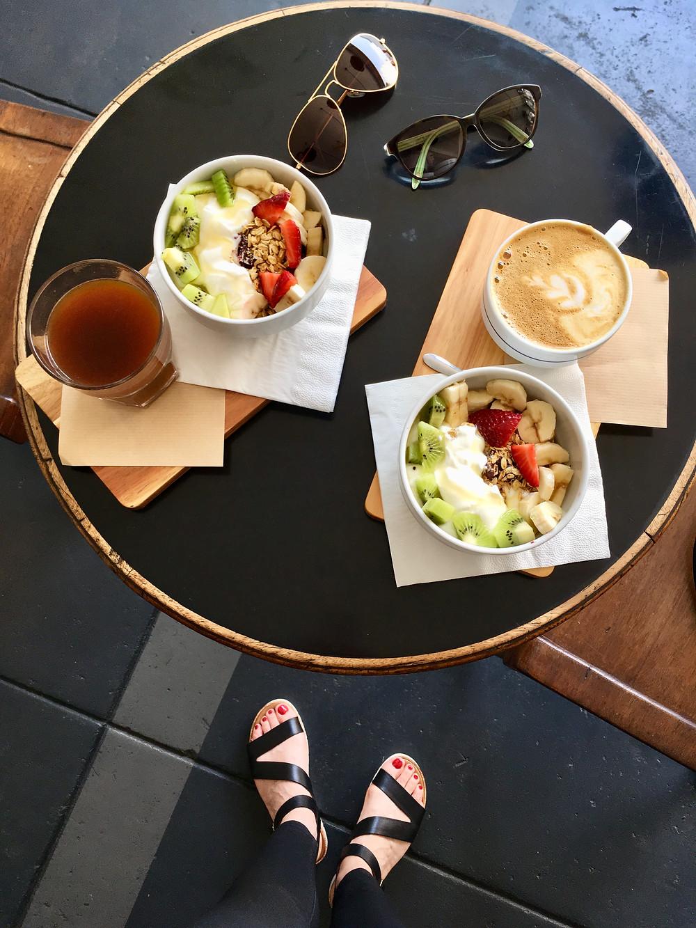 Breakfast at Combi Coffee in Porto