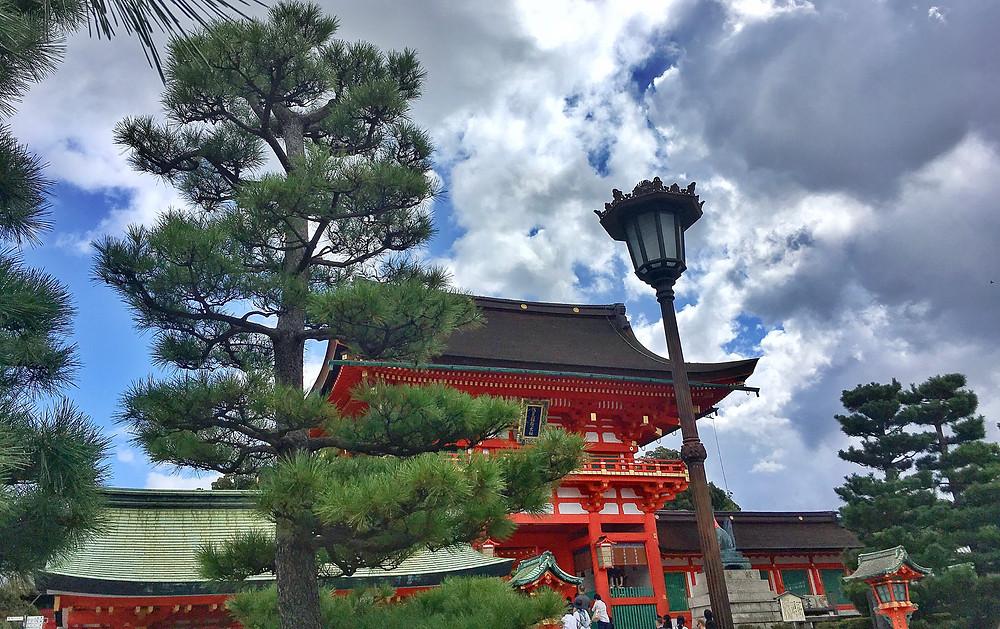 Fushimi Inari Shrine at Kyoto Japan