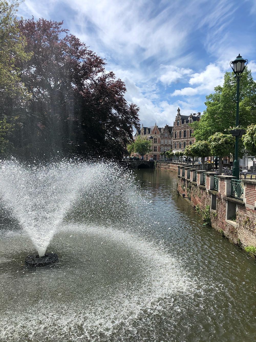 River De Nete Vismarkt Lier