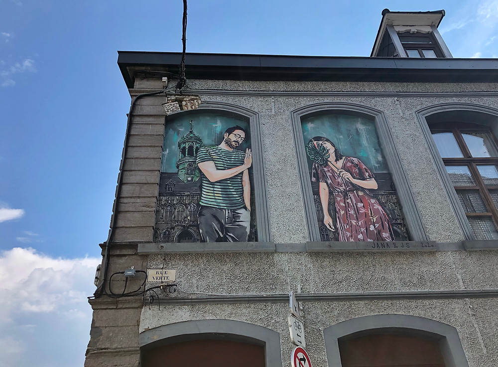 'The couple of Rue Verte' by Jana & Js, Mons Belgium