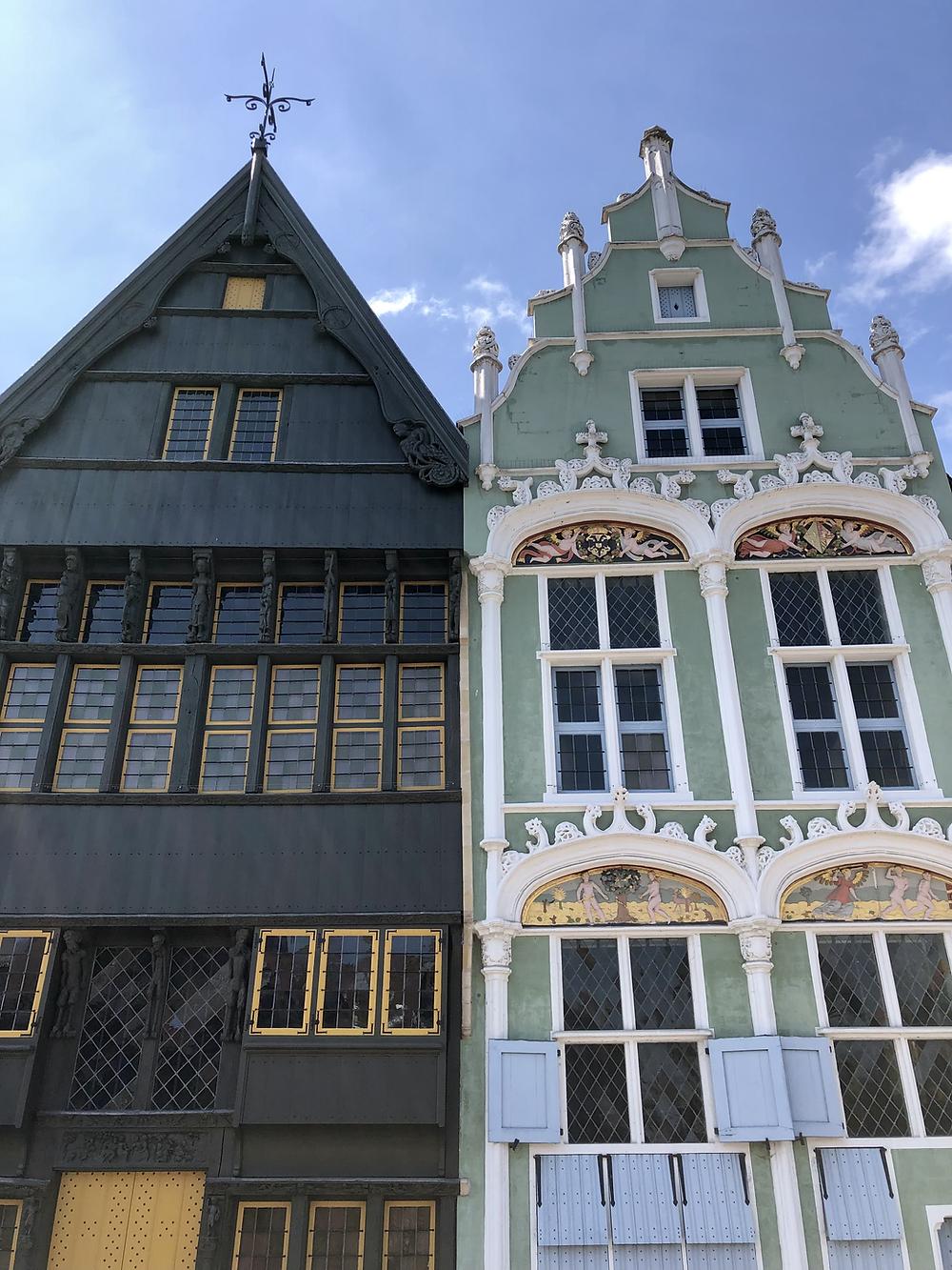 Architecture of Mechelen Belgium