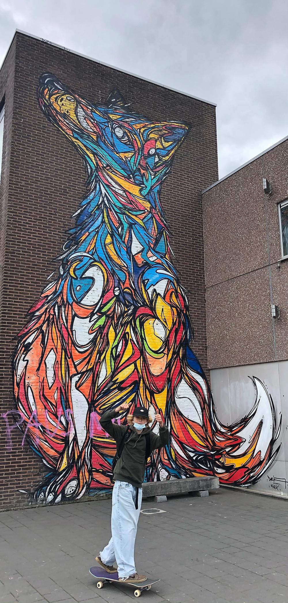 Fox by Dzia at Moevement Lier
