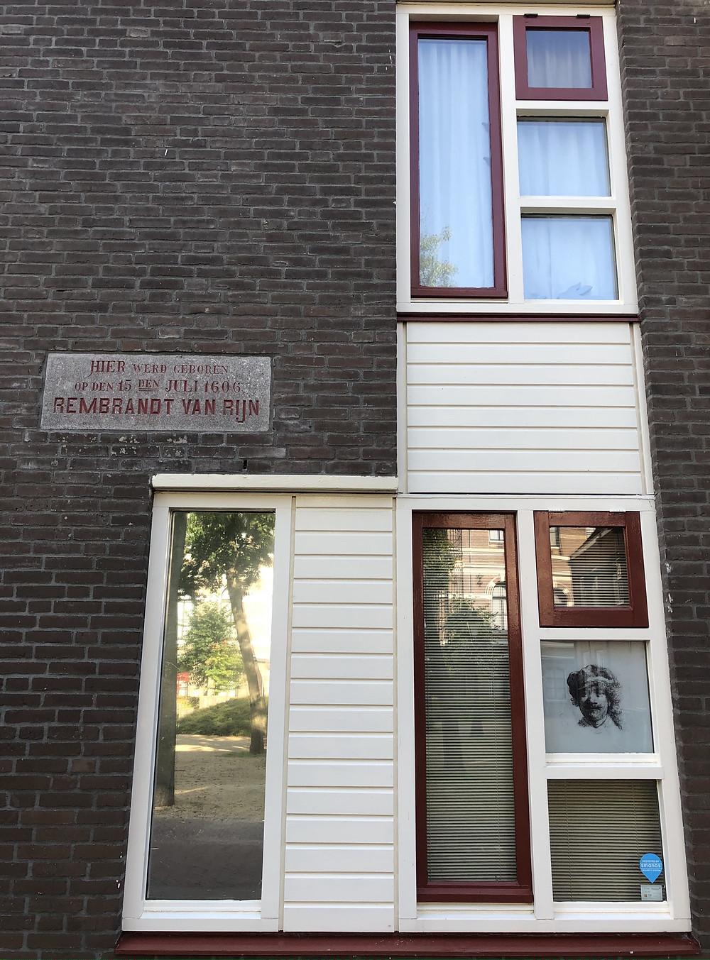 Birthplace Rembrandt van Rijn in Leiden