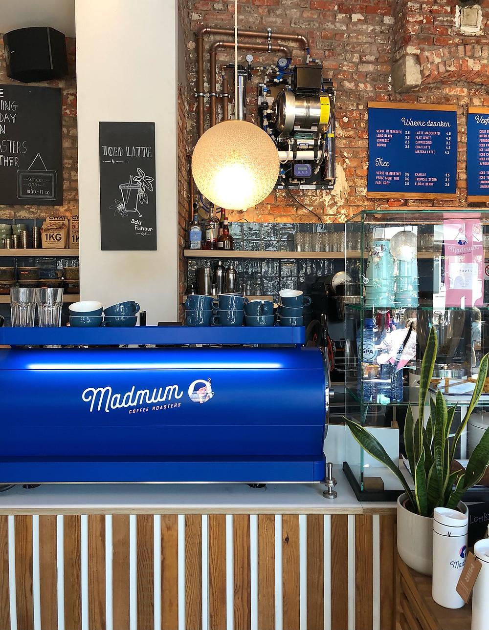 Madmum coffee bar Leuven