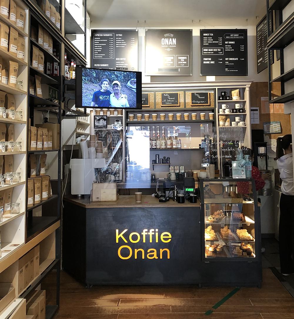 Koffie Onan in Leuven