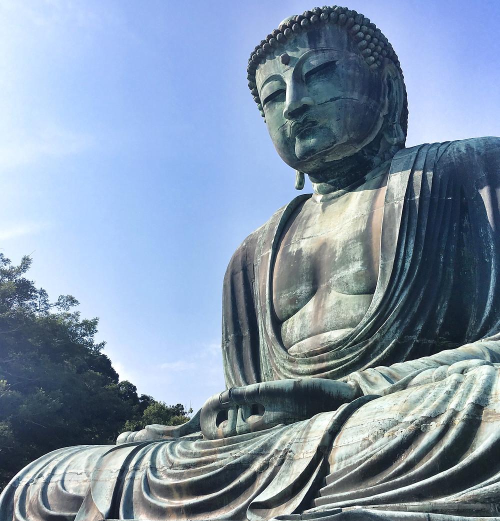 Kõtoku-in Temple in Kamakura Japan