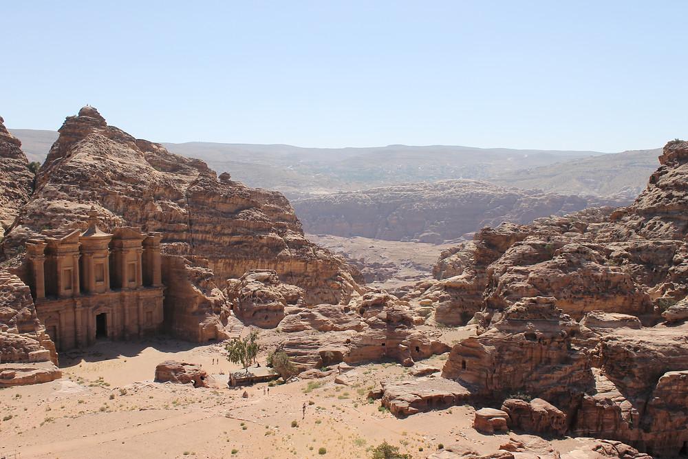 Monastery Al-Deir in Petra Jordan
