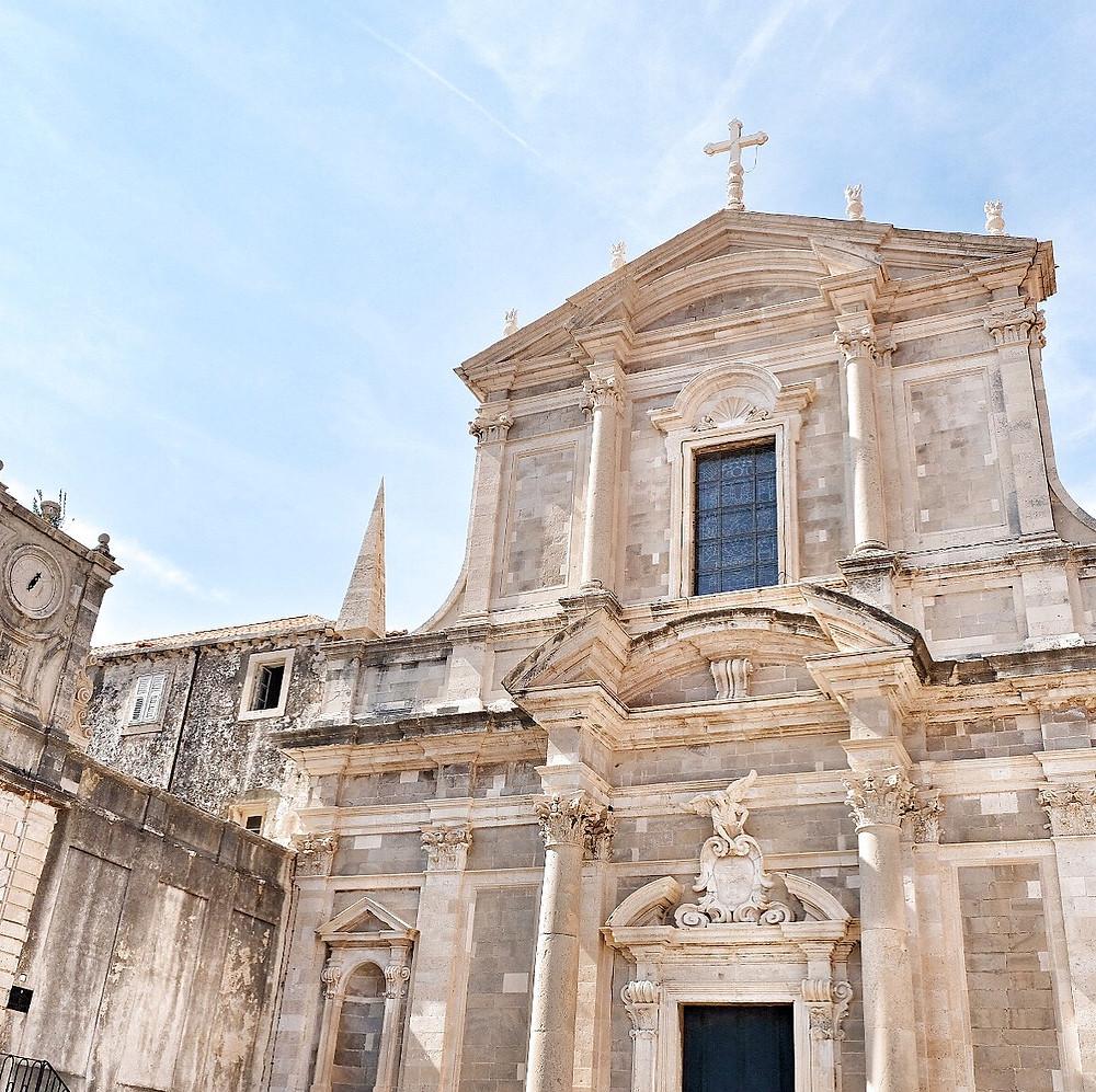 Church of St. Ignatius in Dubrovnik
