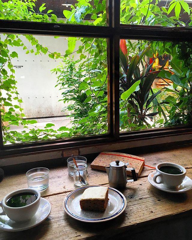 Clamp Coffee Sarasa in Kyoto