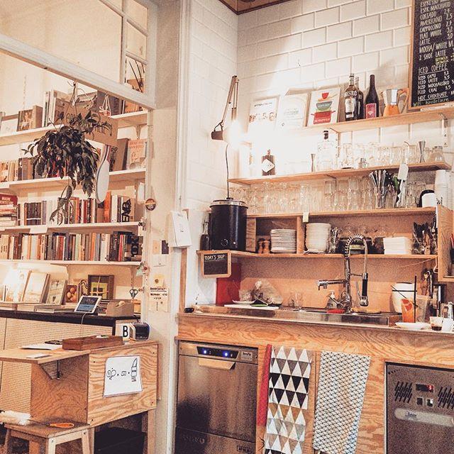 Buchbar coffee bar and book shop Antwerp