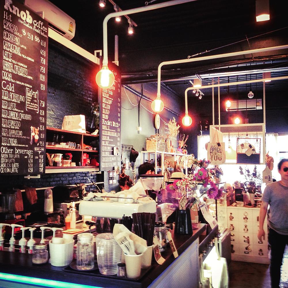 (K)Nob Coffee in Bangkok